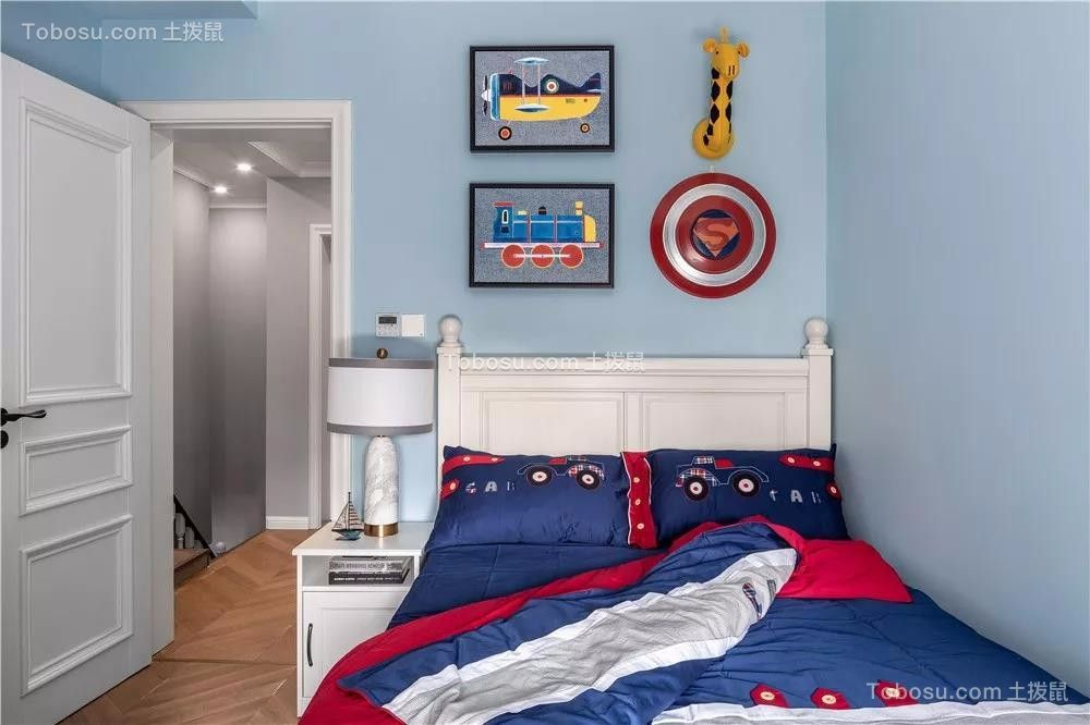 2019美式儿童房装饰设计 2019美式细节装修图片