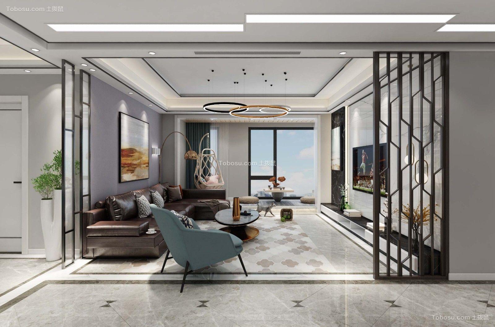 2019现代客厅装修设计 2019现代隔断装修设计
