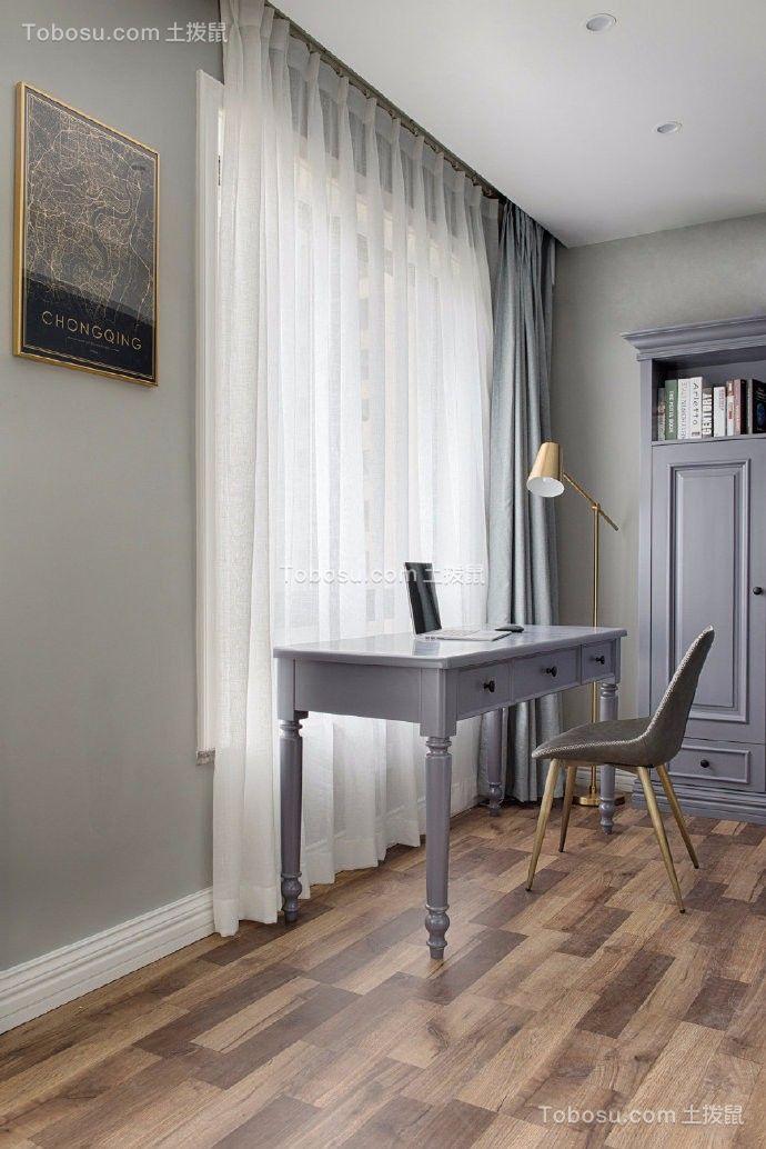 98平两居室清新现代简约风格装修效果图