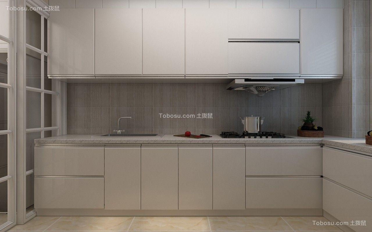 2020简约厨房装修图 2020简约灶台装修图片