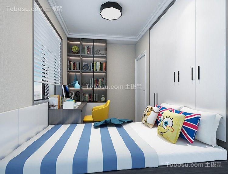 2020简约卧室装修设计图片 2020简约博古架设计图片