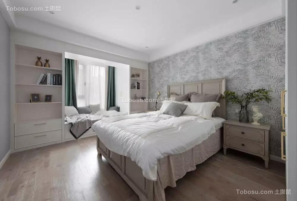 2019美式卧室装修设计图片 2019美式地板装修图片