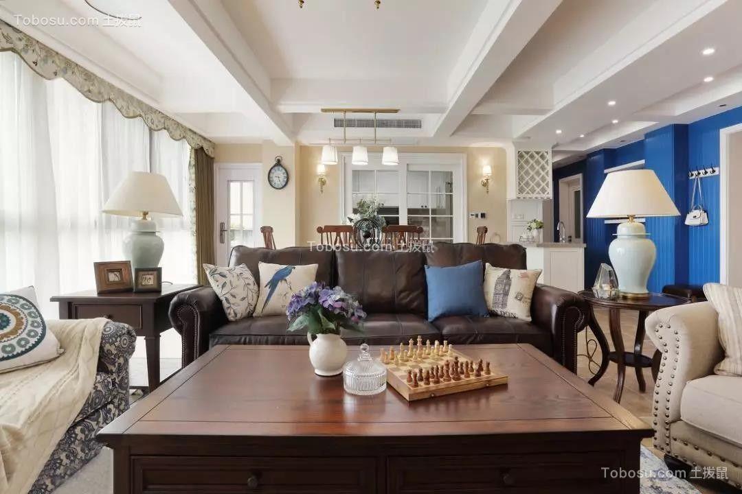 165㎡经典美式4室2厅,优雅与大气的品质之家