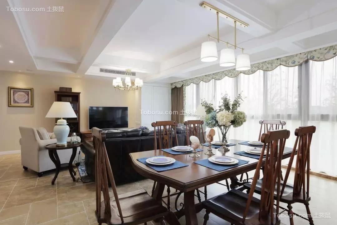 165平米经典美式4室2厅,优雅与大气的品质之家