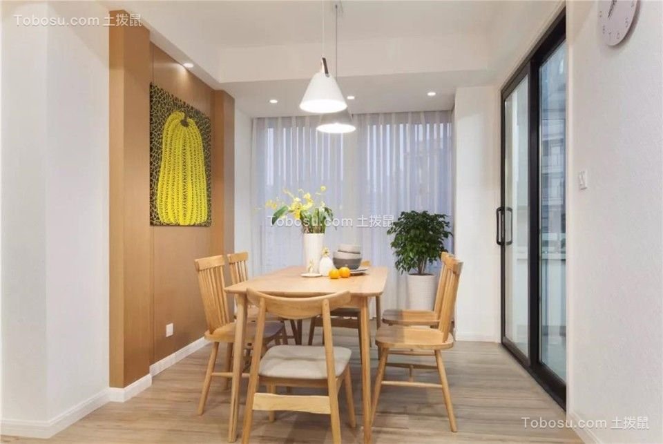 115平米温馨北欧风格装修,清新惬意的暖心之家!