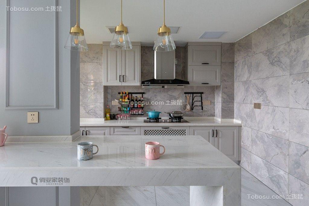 2019美式厨房装修图 2019美式背景墙装修效果图大全