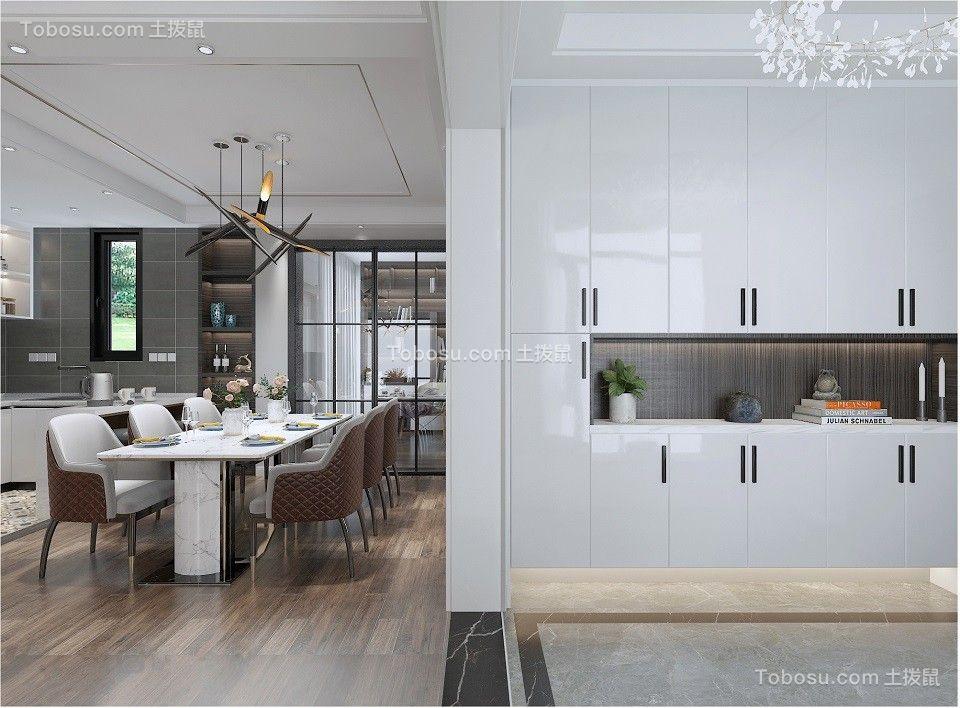 2020现代简约餐厅效果图 2020现代简约灯具装修效果图片