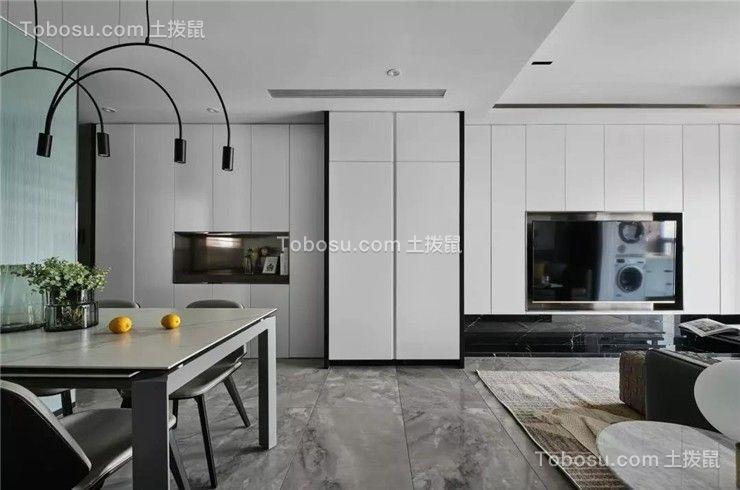 现代简约风格装修,简洁而有温度的家!
