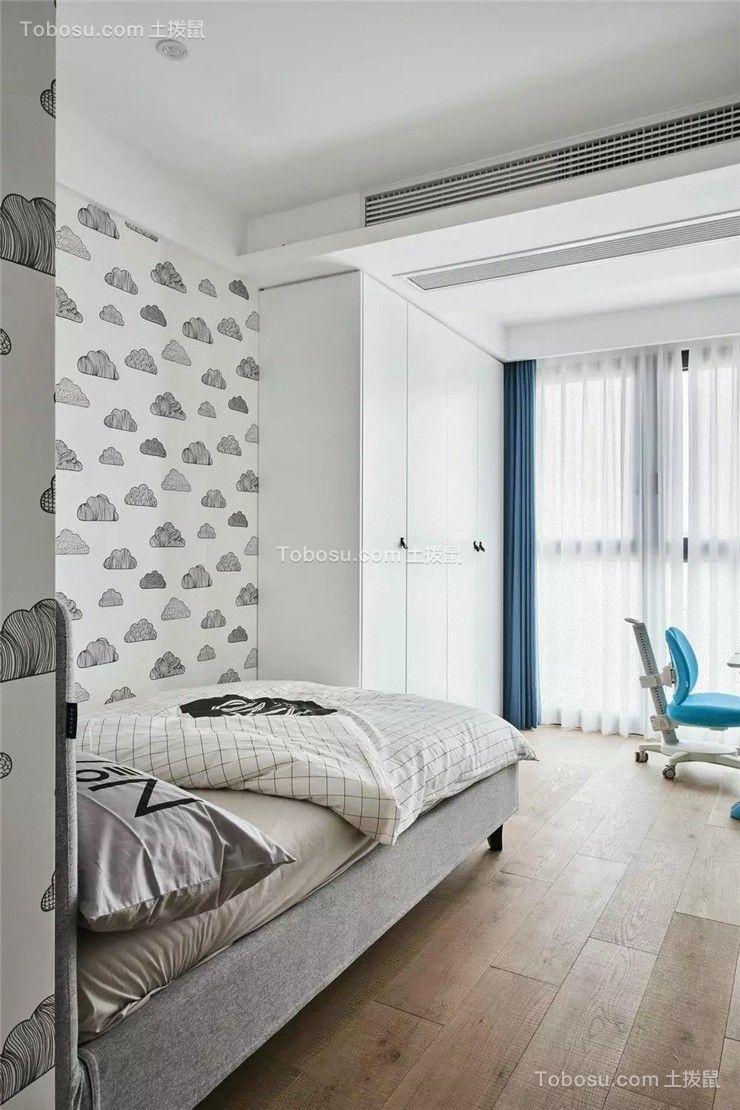 2020简约儿童房装饰设计 2020简约床效果图