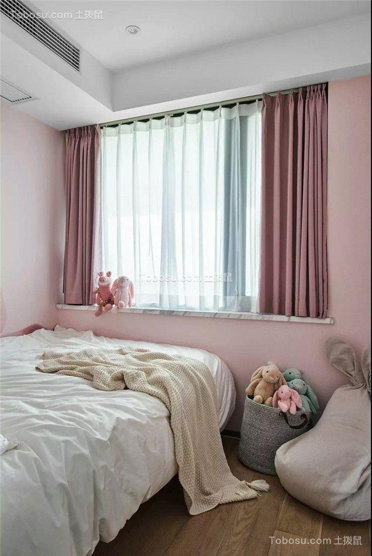 2019简约儿童房装饰设计 2019简约床效果图