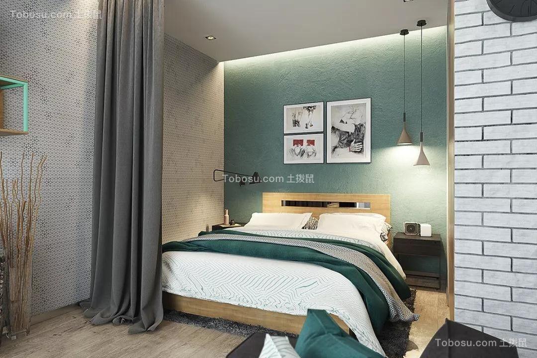 2019工业卧室装修设计图片 2019工业背景墙装饰设计