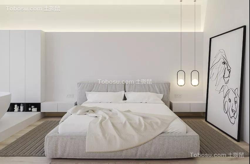 2019现代卧室装修设计图片 2019现代床图片