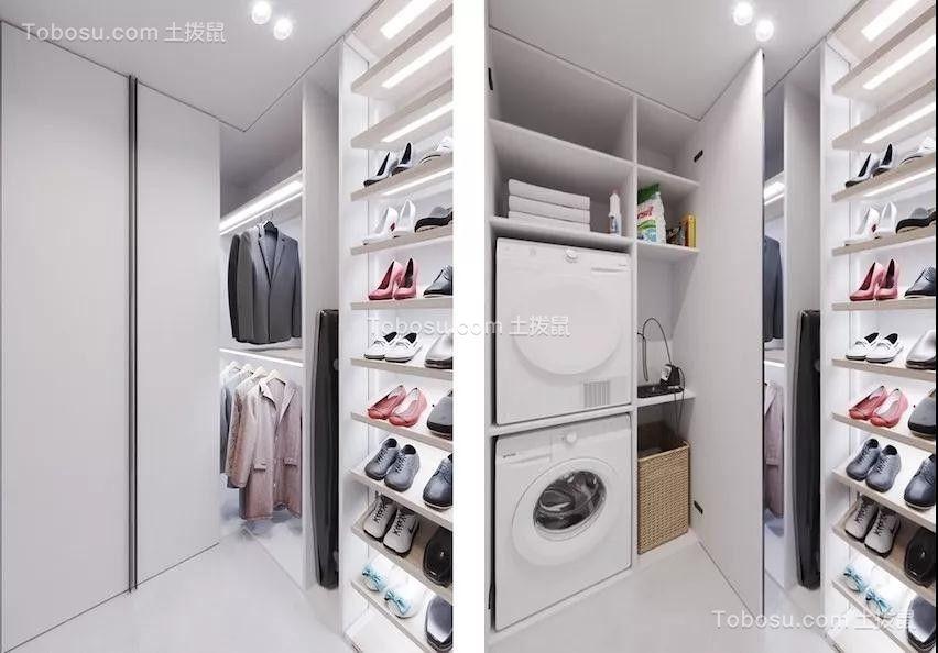 2019现代玄关图片 2019现代鞋柜装修图