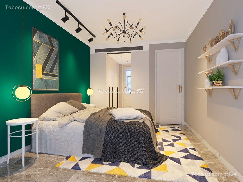 2019现代简约卧室装修设计图片 2019现代简约照片墙效果图