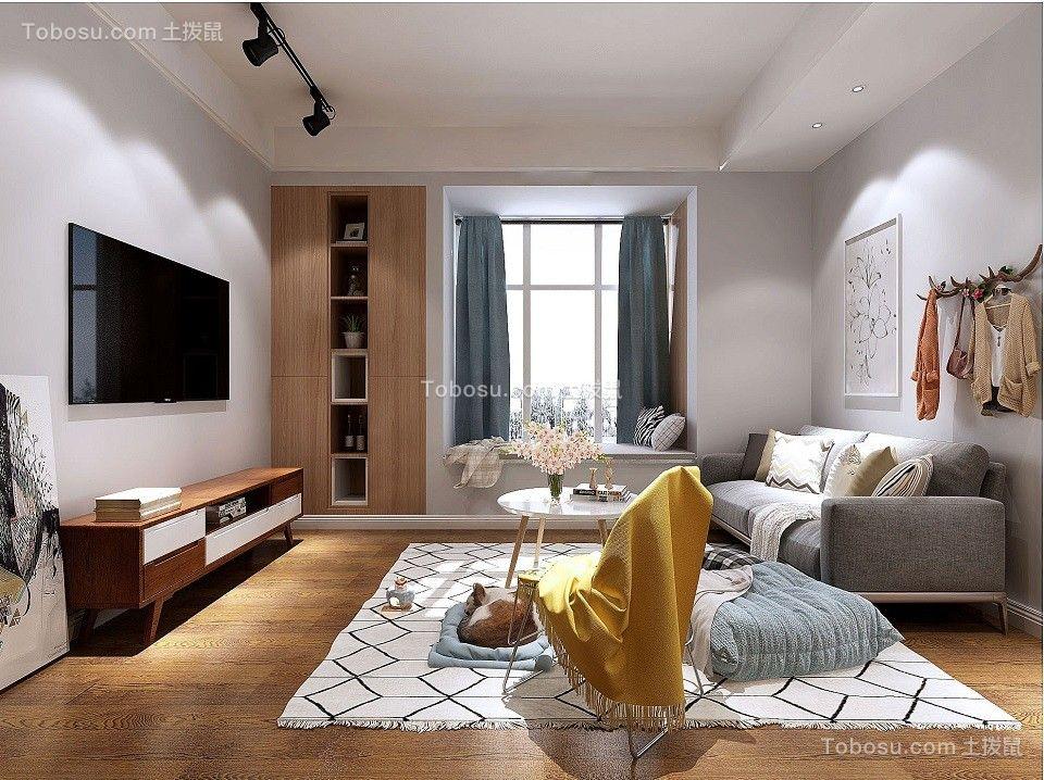 2020北欧客厅装修设计 2020北欧窗台设计图片