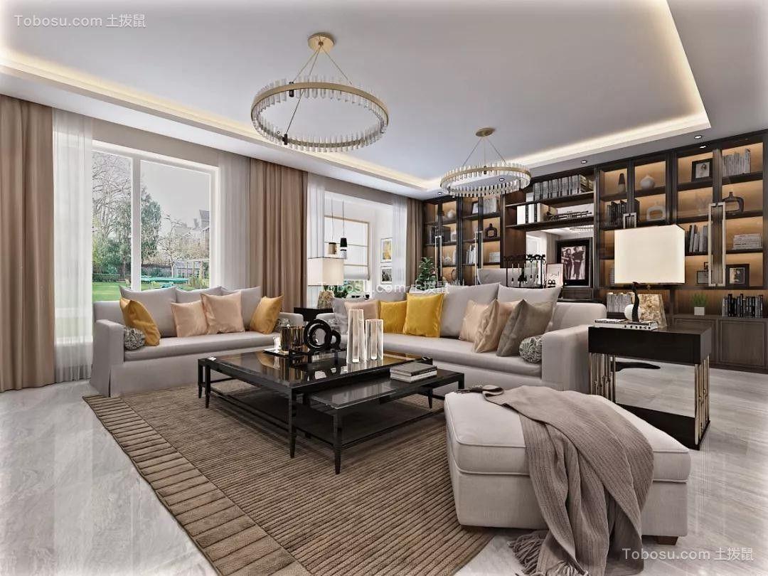 2019后现代客厅装修设计 2019后现代沙发装修设计