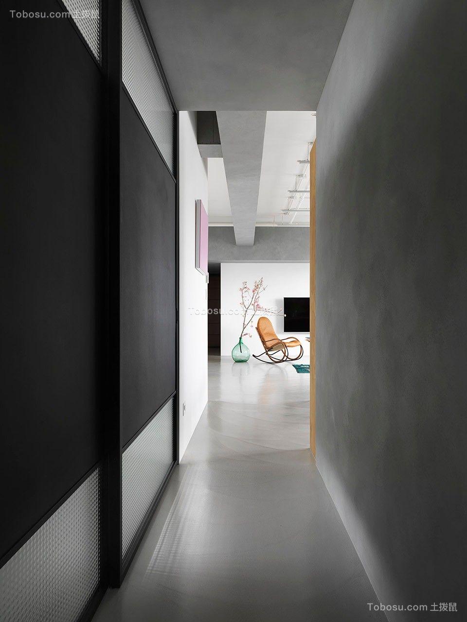 2019工业客厅装修设计 2019工业走廊装修效果图大全