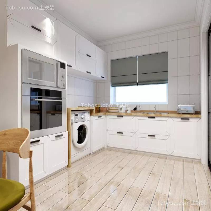 2019现代简约厨房装修图 2019现代简约地板装修效果图大全