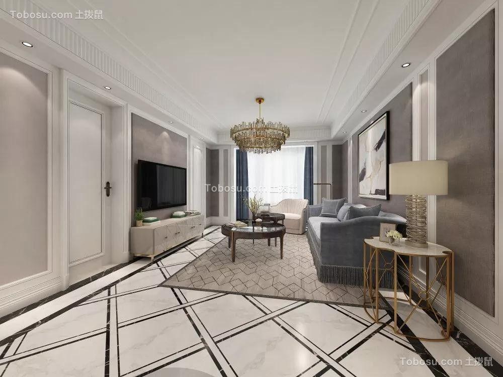 2019欧式客厅装修设计 2019欧式地砖装修效果图大全