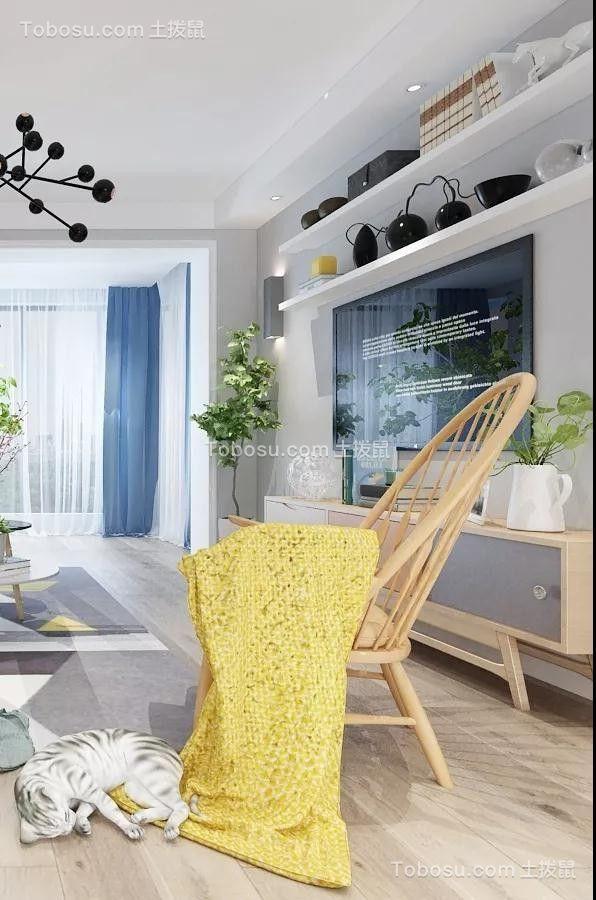 2019北欧客厅装修设计 2019北欧背景墙图片
