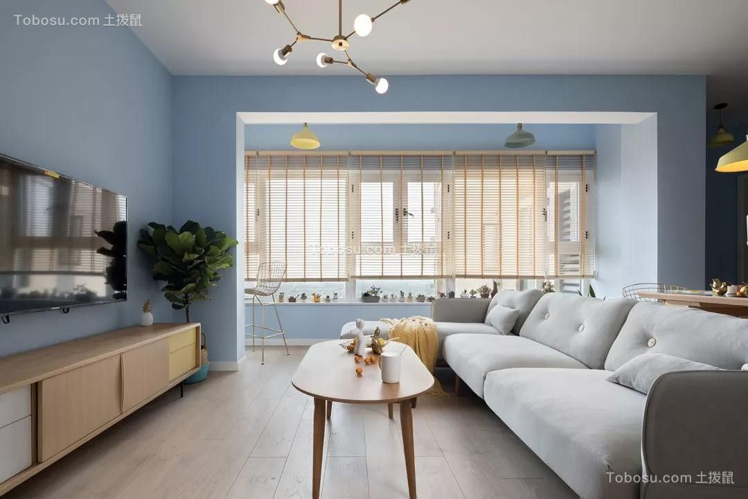 2019欧式客厅装修设计 2019欧式地板效果图