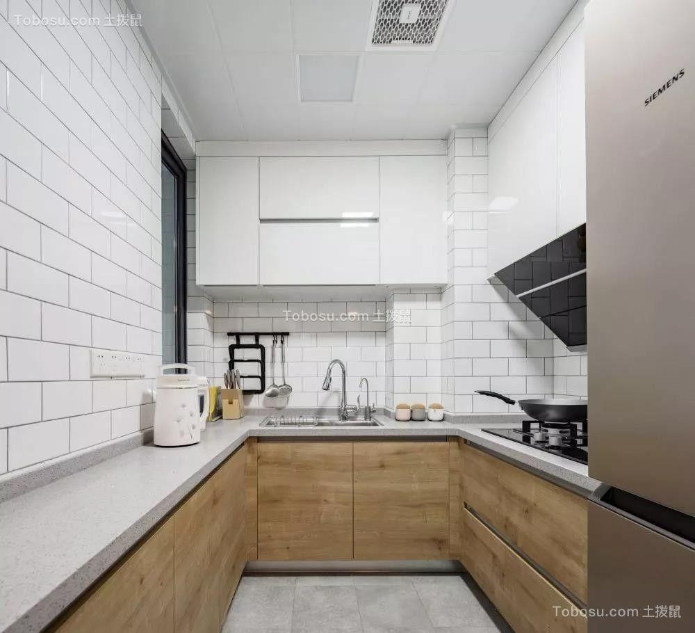 2020北欧厨房装修图 2020北欧厨房岛台装饰设计