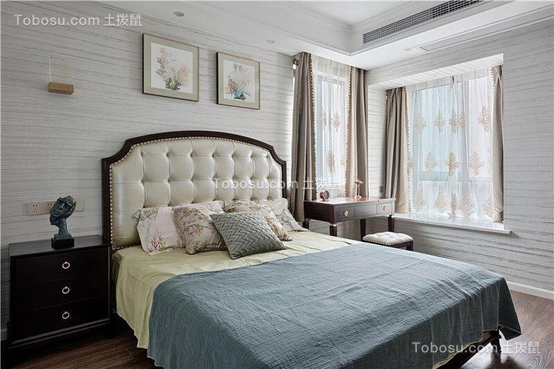 2020简欧卧室装修设计图片 2020简欧飘窗图片