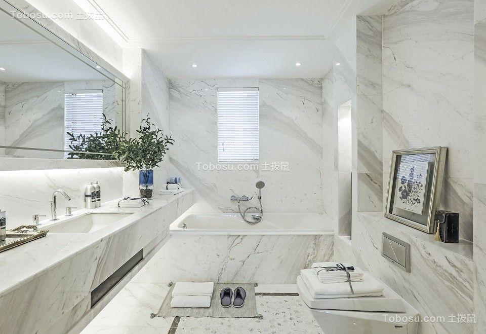 2019法式卫生间装修图片 2019法式洗漱台装饰设计