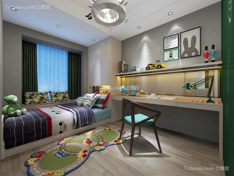 2019现代简约卧室装修设计图片 2019现代简约榻榻米装修设计