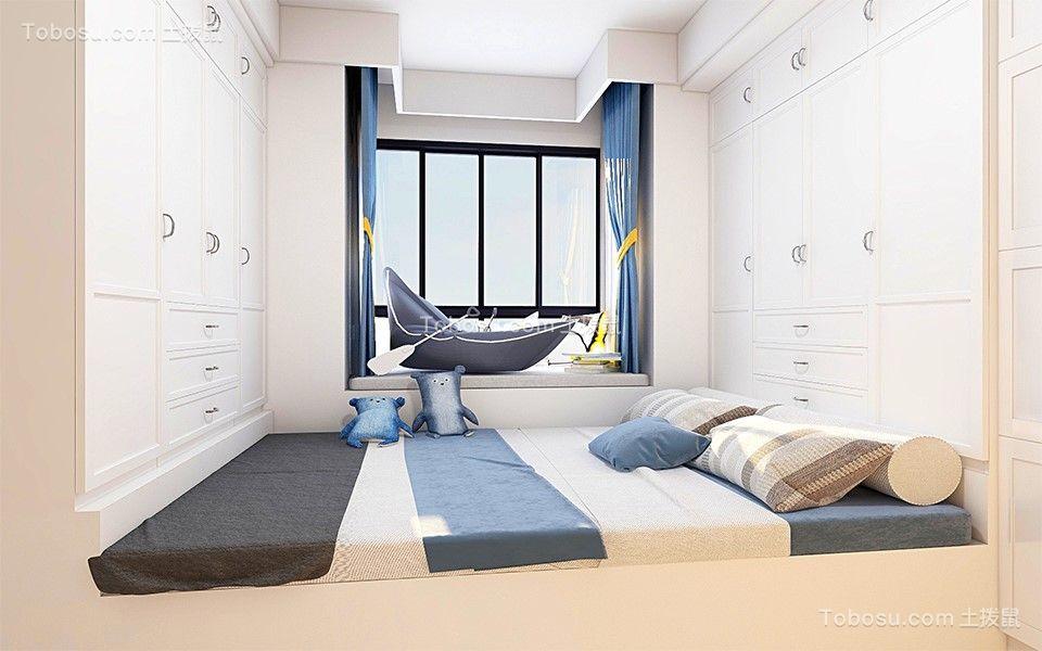 2019现代儿童房装饰设计 2019现代床效果图
