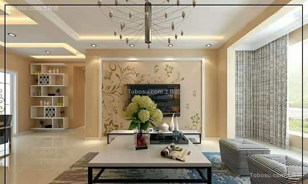 龙湖唐宁112平米现代简约风格效果图