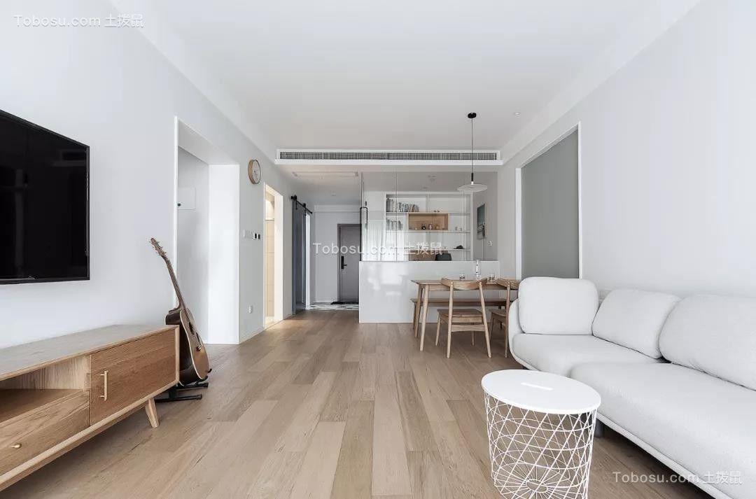 2019北欧客厅装修设计 2019北欧地砖装修效果图大全