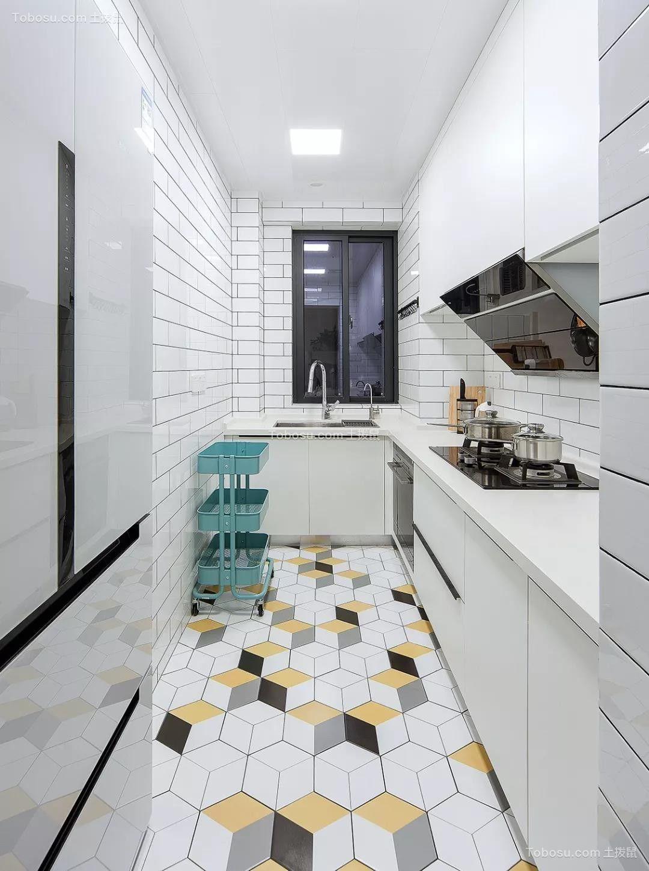 2019北欧厨房装修图 2019北欧地板砖装修设计图片