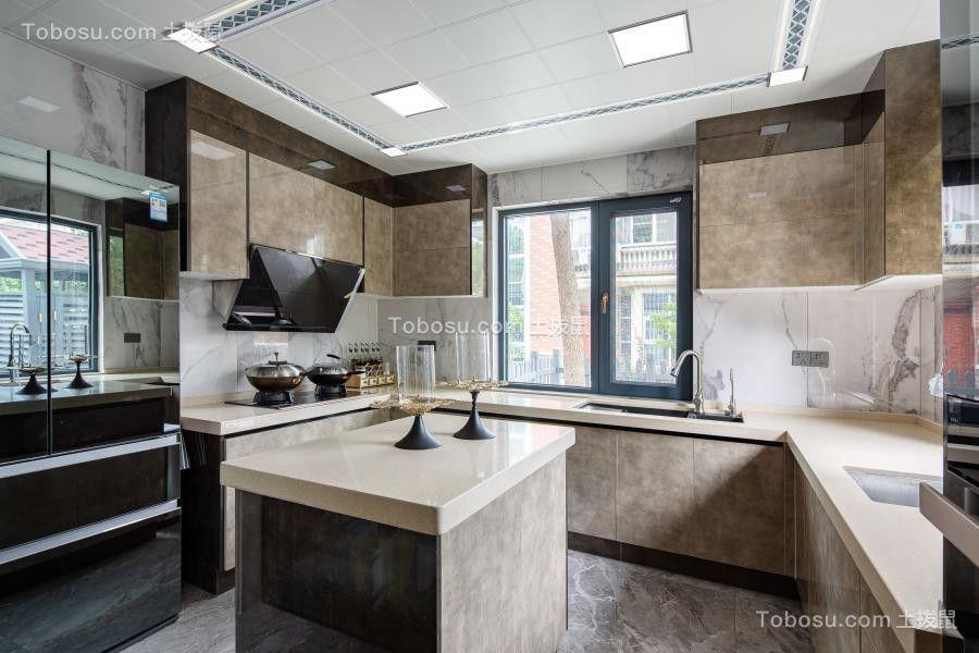 2020现代厨房装修图 2020现代厨房岛台装饰设计