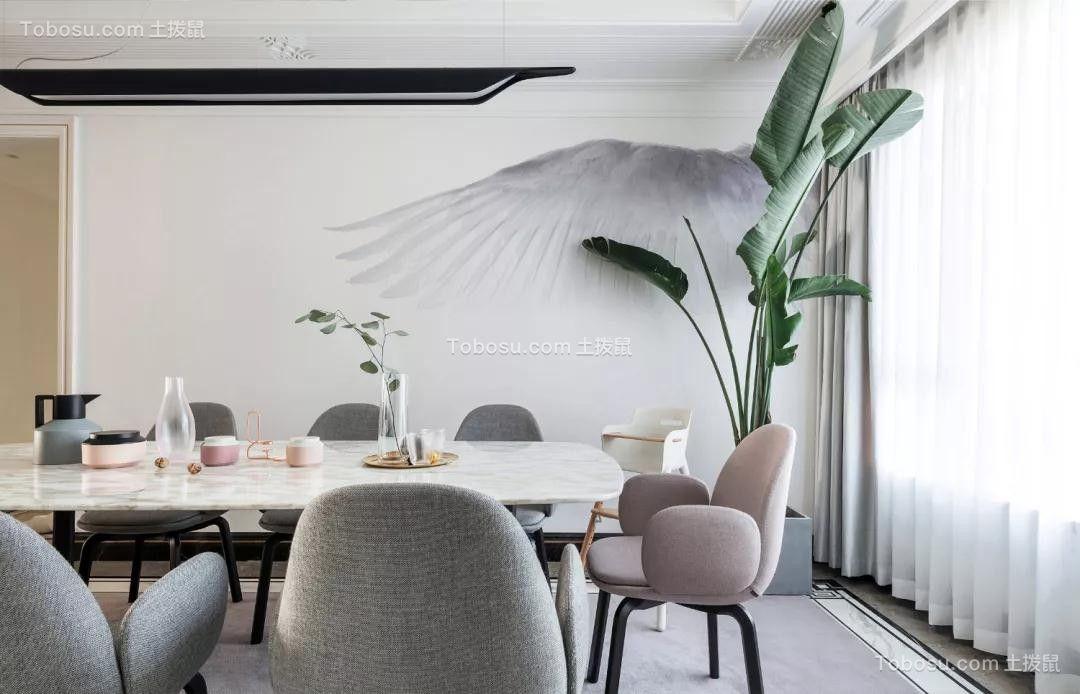 2019现代餐厅效果图 2019现代背景墙装修图