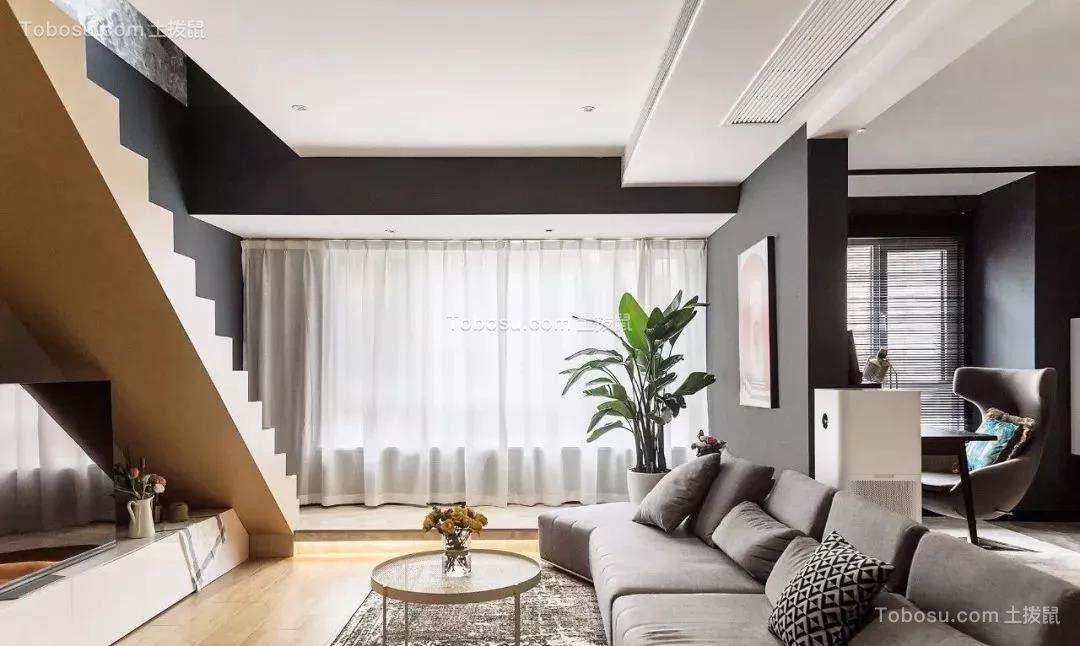 91m²混搭美式风格装修,时髦复古、个性质感!| 美式风格