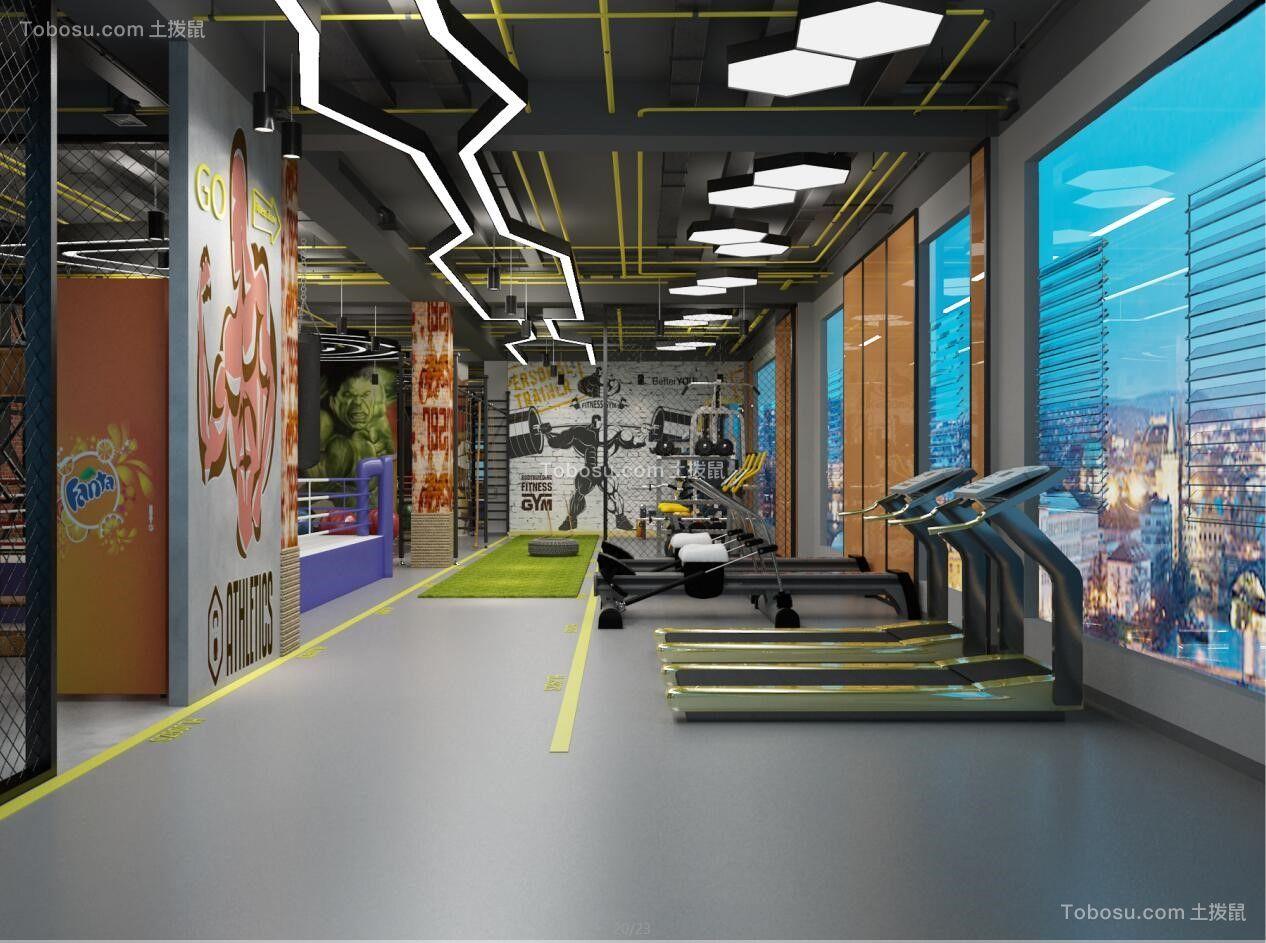 健身房运动区
