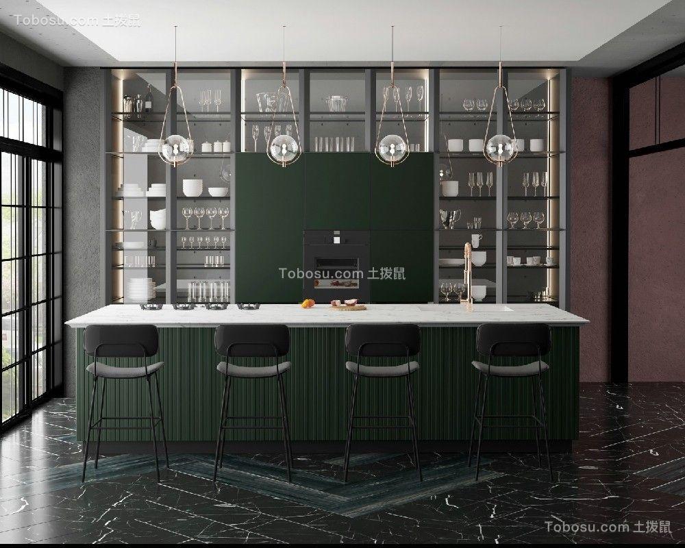2019现代餐厅效果图 2019现代餐桌装修图片