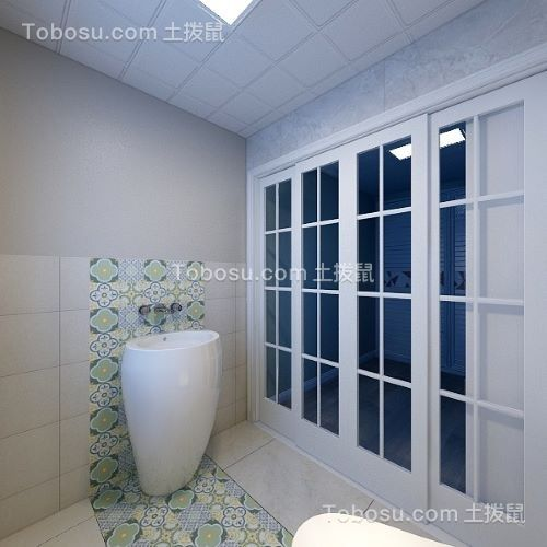2020现代简约卫生间装修图片 2020现代简约推拉门设计图片