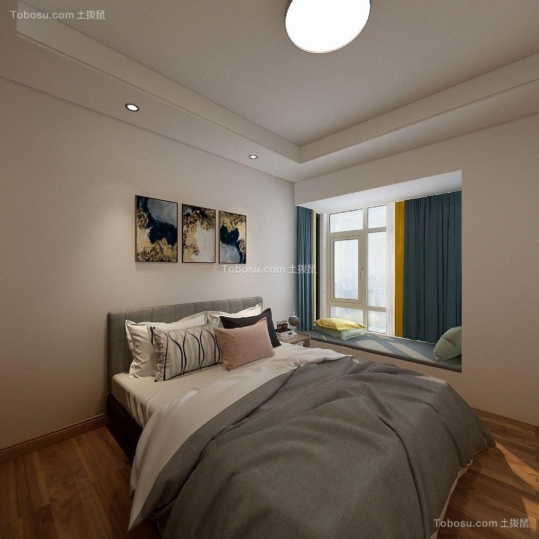 2021现代简约卧室装修设计图片 2021现代简约飘窗图片
