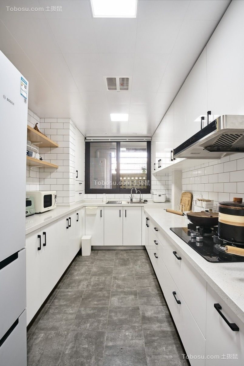 2019北欧厨房装修图 2019北欧吊顶装饰设计