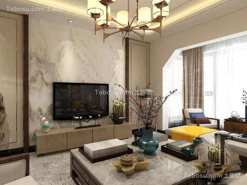 2021新中式客厅装修设计 2021新中式沙发装修设计