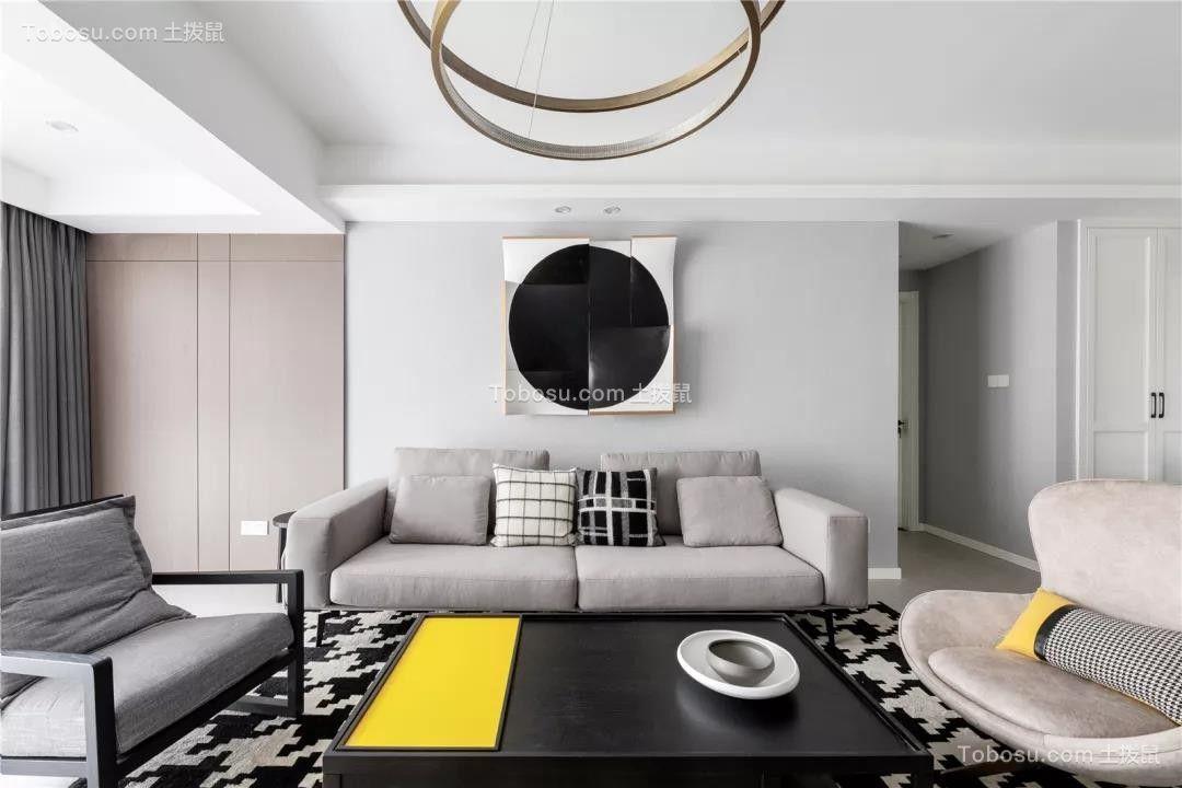 130㎡现代主义4室2厅,享受慵懒舒适慢生活