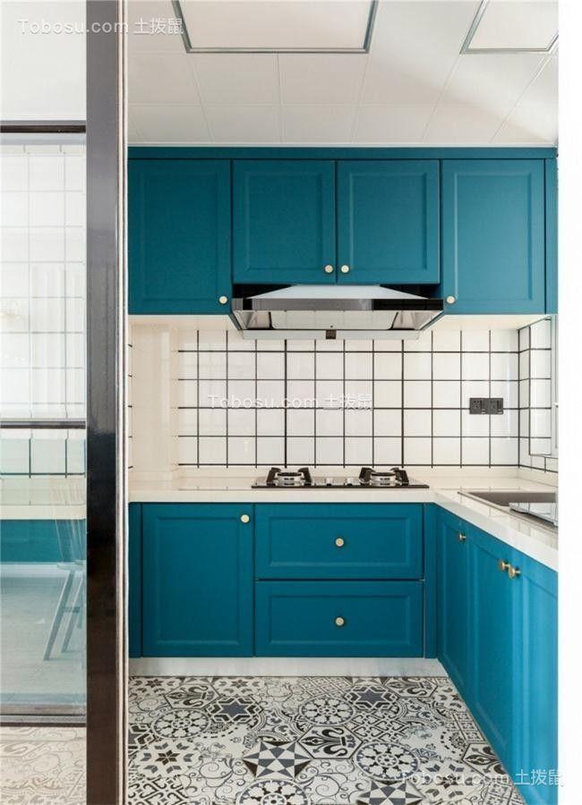 2021北欧厨房装修图 2021北欧橱柜装修效果图片