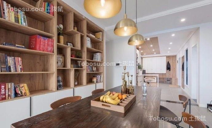 2021简约书房装修设计 2021简约书桌图片