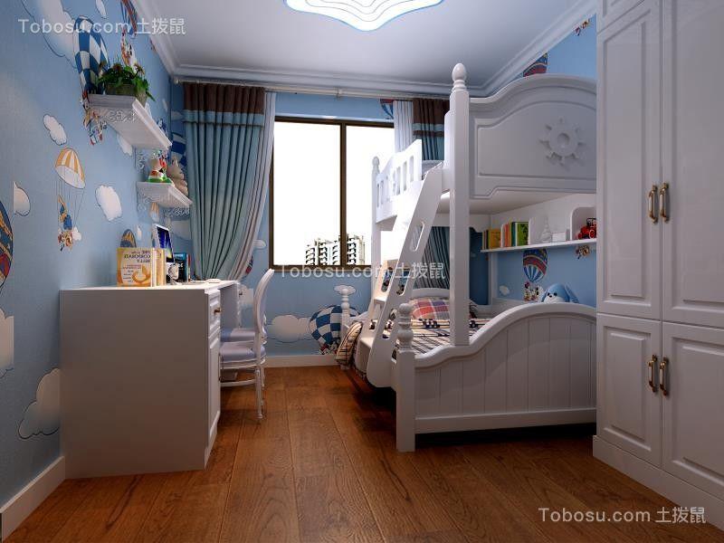 2021欧式儿童房装饰设计 2021欧式窗帘图片