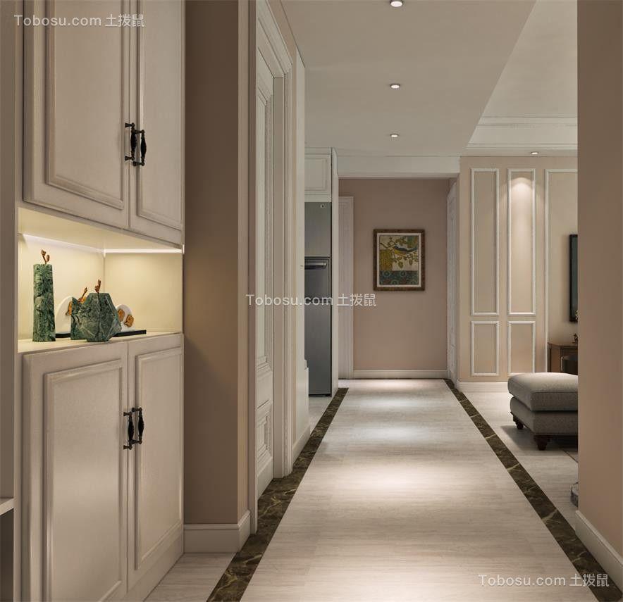 2021美式客厅装修设计 2021美式走廊装修效果图大全