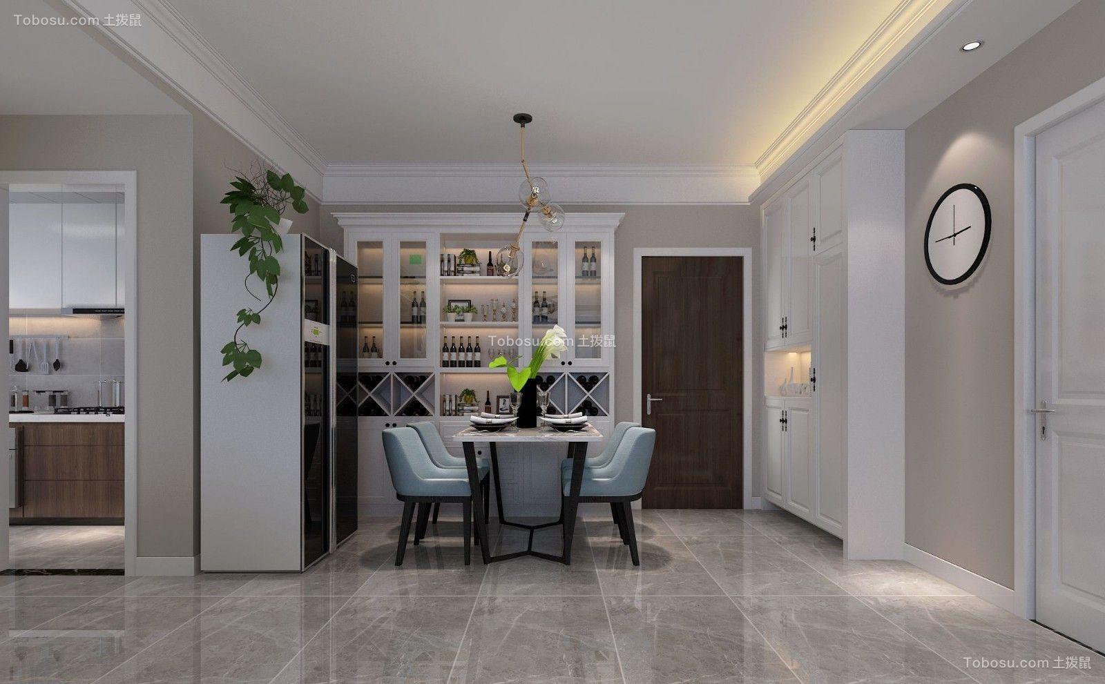 2019现代餐厅效果图 2019现代地板装修效果图片