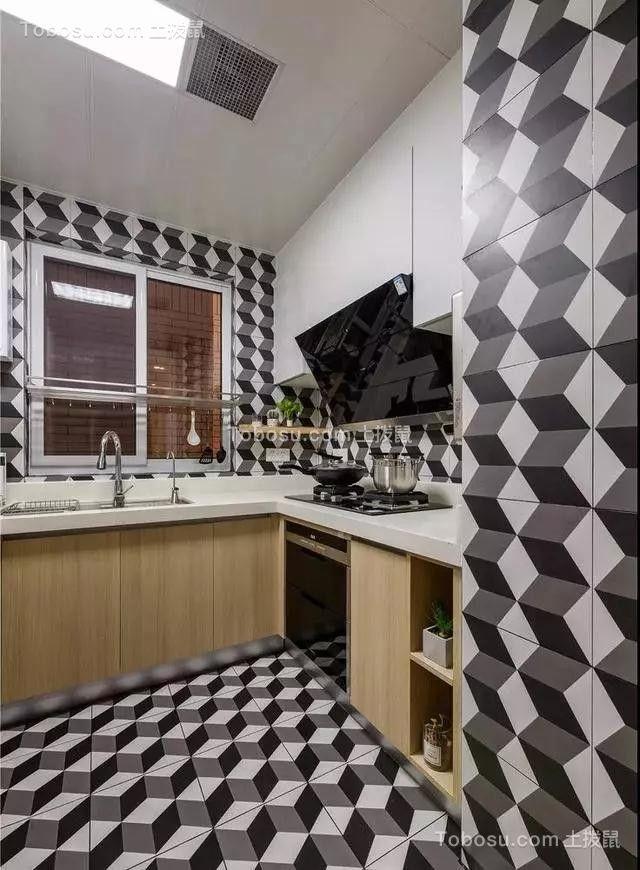 2019北欧厨房装修图 2019北欧地砖装修设计