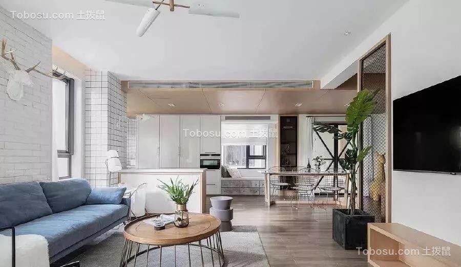 175平米明亮北欧风格装修,这个家简洁舒适,还有点小文艺!